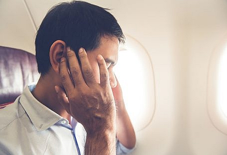 ból zęba podczas lotu